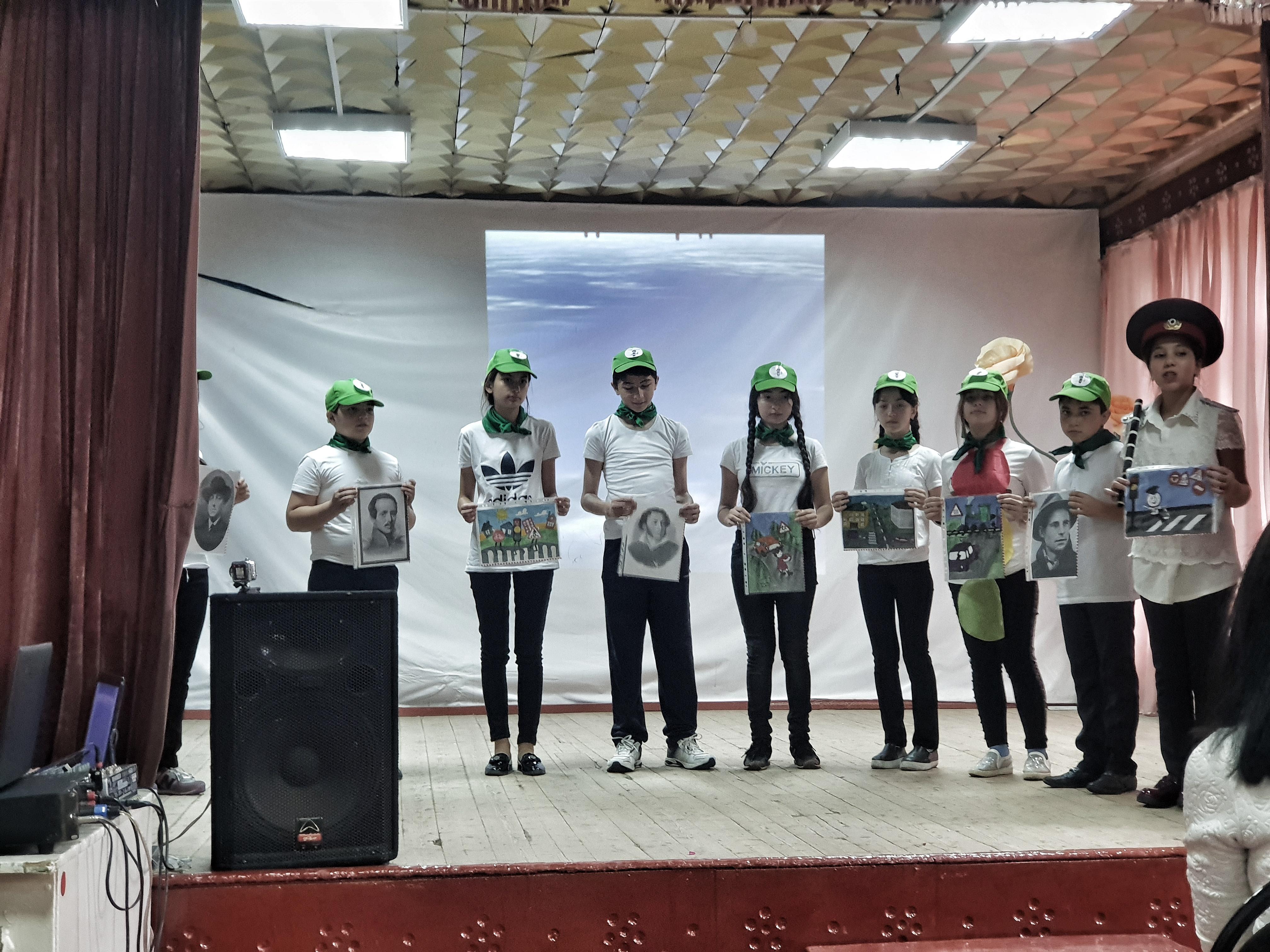 Конкурс  агитбригад отрядов ЮИДД